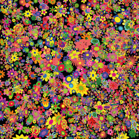 Flower background Stock Vector - 8582602
