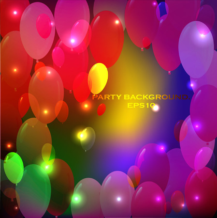Abstract party background. EPS10 Vector