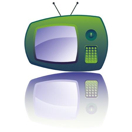 vector retro tv Stock Vector - 9774429