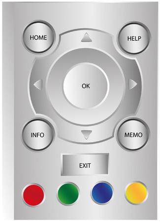 Remote control. Vector illustration EPS10