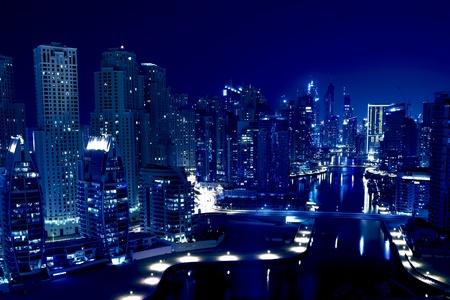 городской пейзаж: Ночной город Фото со стока
