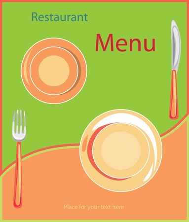 Restaurant menu background. Invatation card Vector