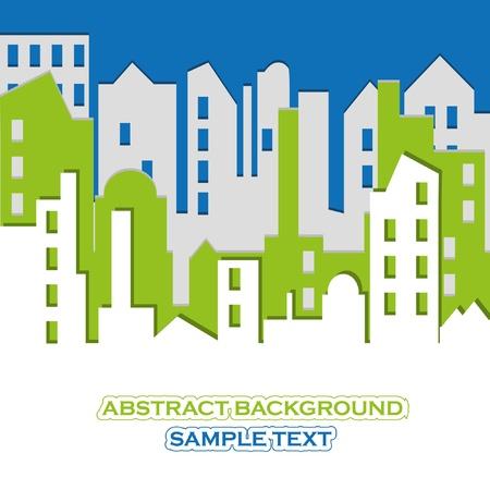 CITYSCAPE. Vector illustration. Stock Vector - 9843140