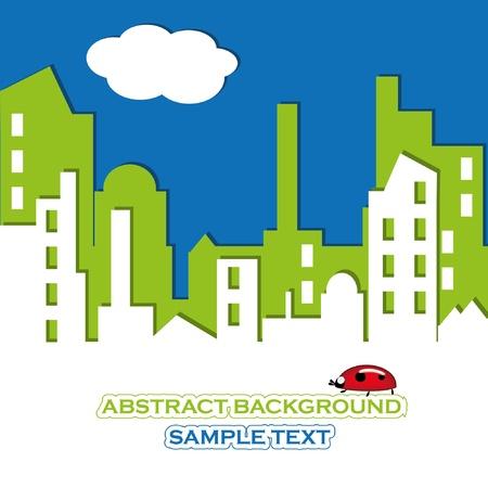 CITYSCAPE. Vector illustration. Stock Vector - 9848918