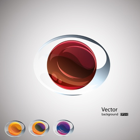 Abstract l vector background.Set. EPS10 Vector