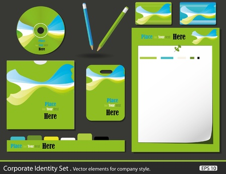 bankcard: Set of corporate identity templates