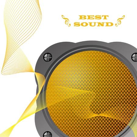 Loudspeaker. Stock Vector - 9934795
