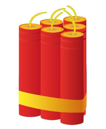 Dynamite Stock Vector - 9934783