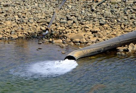 sewer water: Sewer Stock Photo