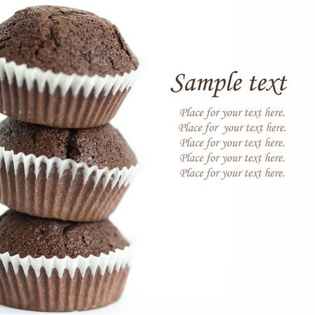 chocolate muffin photo
