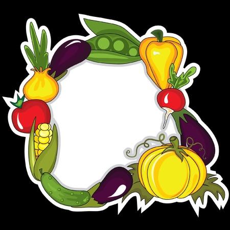 aubergine: Abstrakt Gem�se Hintergrund.  Platz f�r Ihren text