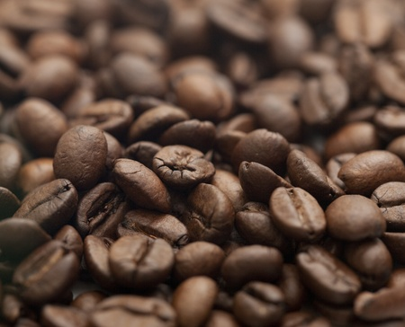 Coffee beans background photo