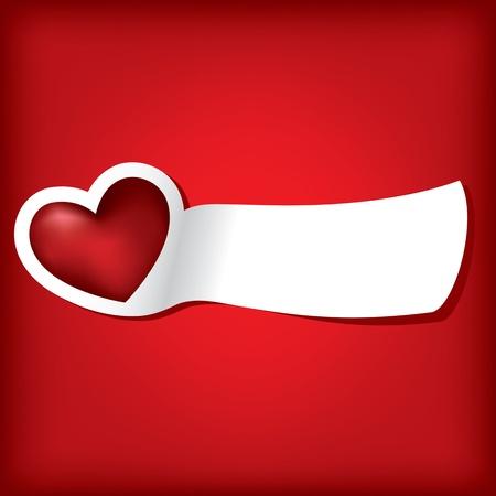 Hearts. Valentine card.  Vector