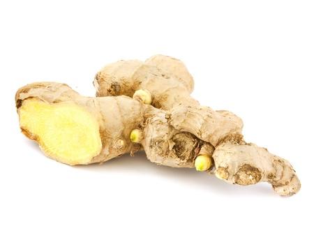 Ginger  isolated on white background Stock Photo - 12751225