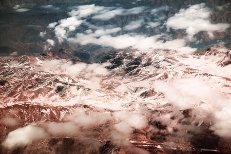 Mountains. Middle east. Iraq. Birds eye view photo