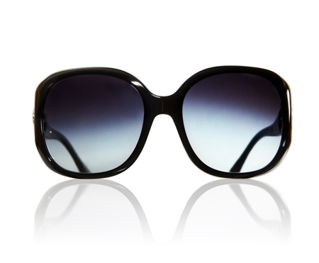 sunglasses isolated: Sunglasses isolated on the white background