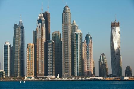marina: Dubai Marina cityscape, UAE