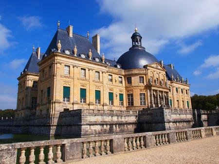fires artificial: Vaux Le Vicomte France summer the castle near Paris