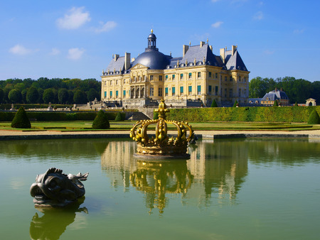 vaux: Vaux Le Vicomte France summer the castle near Paris