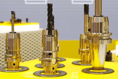 Drill bits of increased strength. Industrial milling cutting tool with carbide insert. Monolithic carbide milling cutters. Metal processing with carbide drills and cutters.