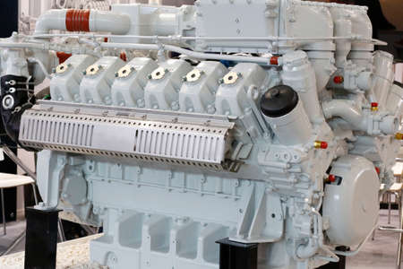 Diesel engines. Manufacture of marine and industrial diesel and gas engines. Diesel motors and generators.