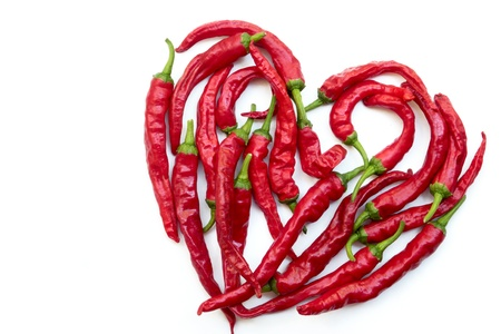 Spicy red pepper Stock Photo