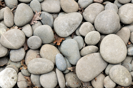 Background from large pebbles. Beauty in nature. Imagens