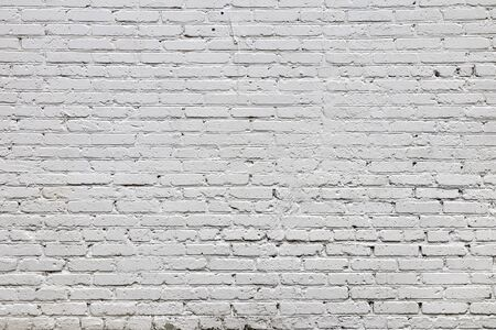 Painted brick wall in a light shade. Foto de archivo
