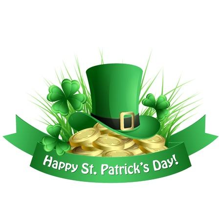 patrick: St  Patrick background Illustration