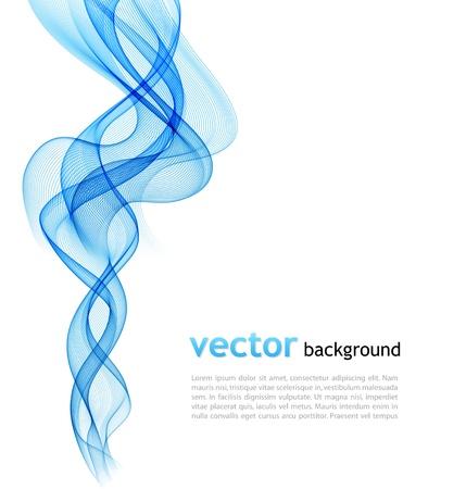 fumo blu: Astratto sfondo colorato