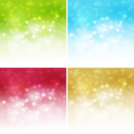 sporlights: Abstract blurred  background Illustration