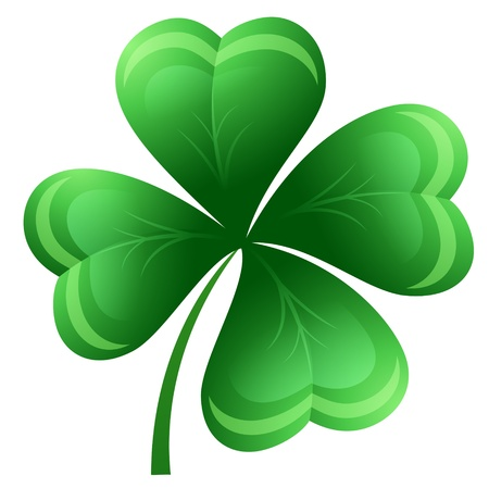 St  Patrick s clower Vector
