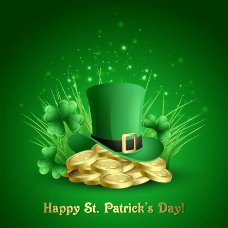 St  Patrick s background  Vector