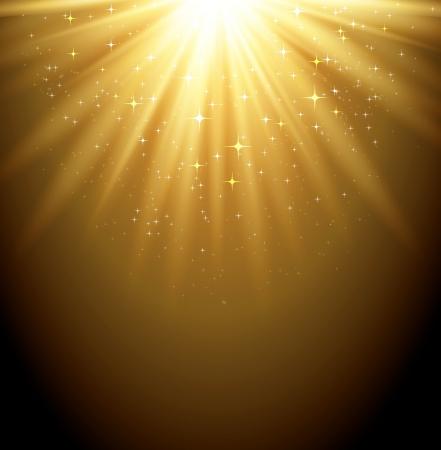 Magic light background Stock Vector - 18607991