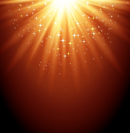 magic show: Magic light background