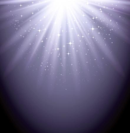 Magic light background Stock Vector - 18607996