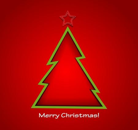 Christmas tree Stock Vector - 18607323