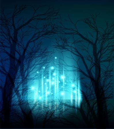 boom halloween: Abstracte achtergrond