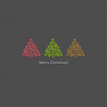Christmas tree Stock Vector - 18607416