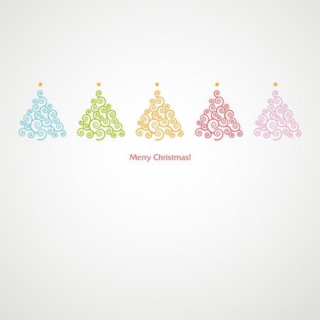 Christmas tree Stock Vector - 18607339