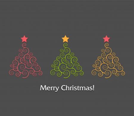Christmas tree Stock Vector - 18607679