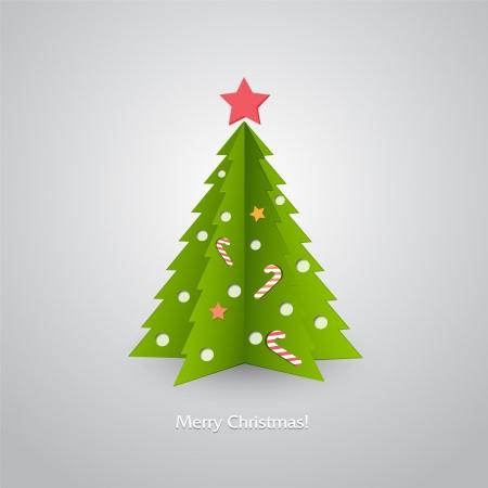 Christmas tree Stock Vector - 18607293