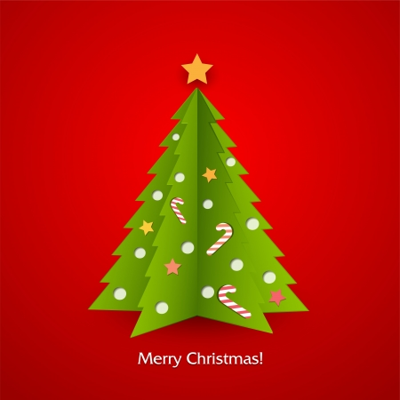 Christmas tree Stock Vector - 18607288