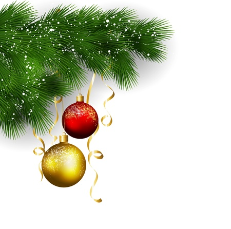 christmas decoration: Christmas tree