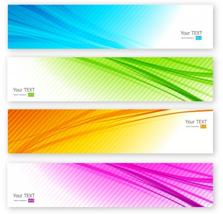 banner background: Abstract banner Illustration