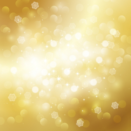 Gold holiday background Stock Vector - 18607706