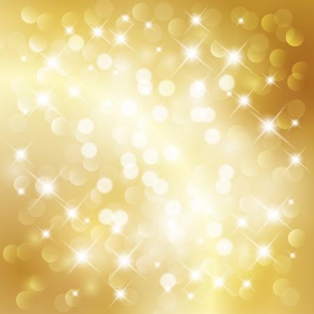 blink: Gold holiday background Illustration