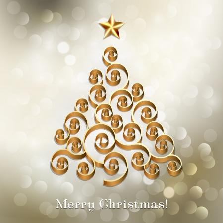 Christmas tree Stock Vector - 18607809