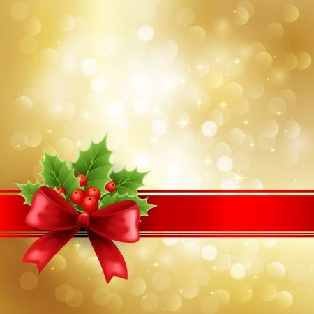 christmas tree illustration: Christmas decoration
