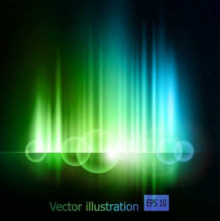 Abstract light  background Stock Vector - 18607370